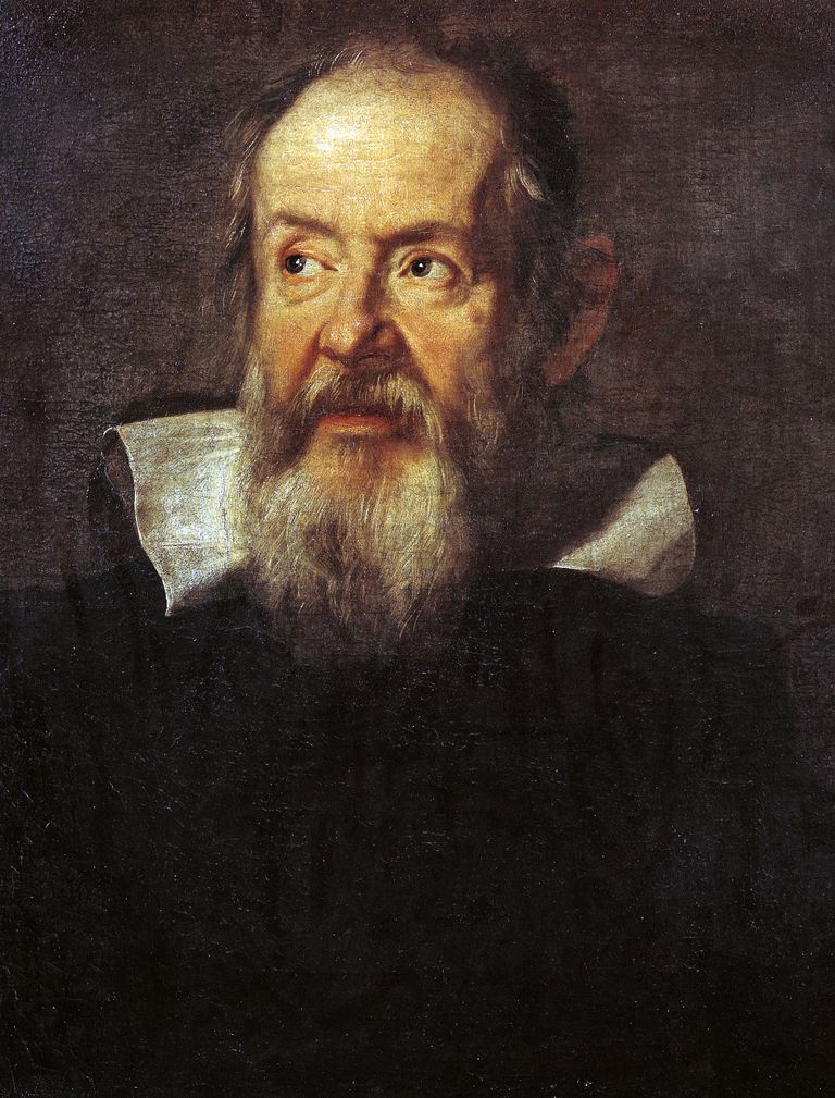 Portrait of Galileo Galilei (1564-1642), Italian physicist, philosopher, astronomer and mathematician, by Justus Sustermans (1597-1681), 1636, oil on canvas