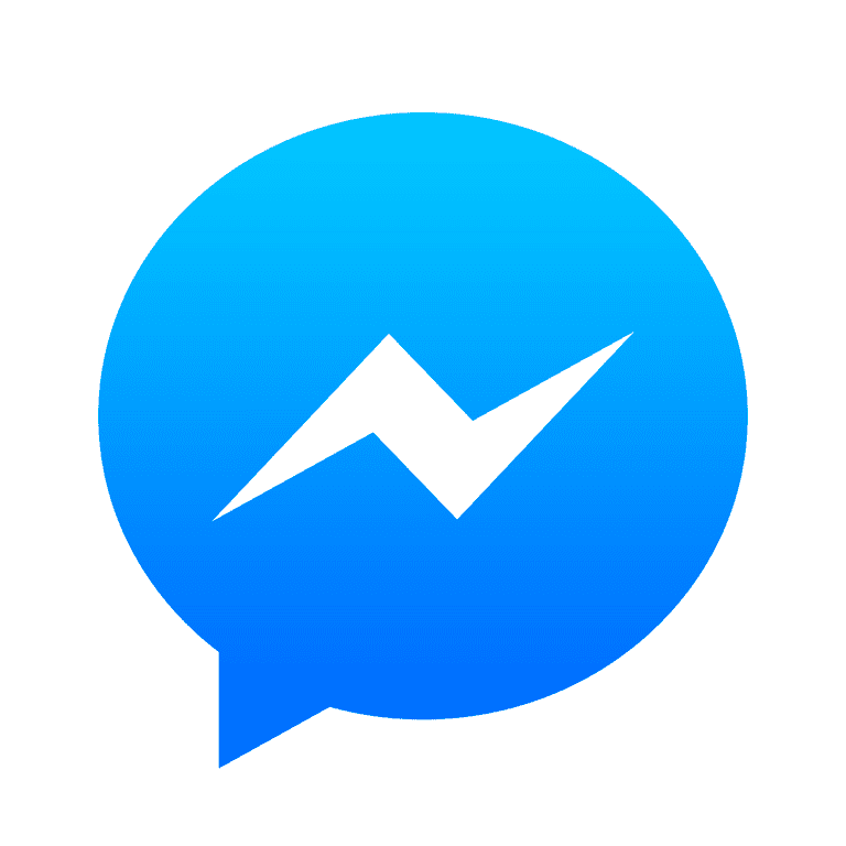 Facebook Messenger iOS App Logo