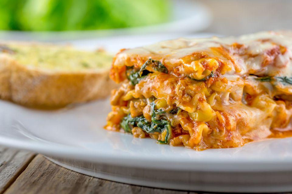 9 easy vegetarian lasagna recipes