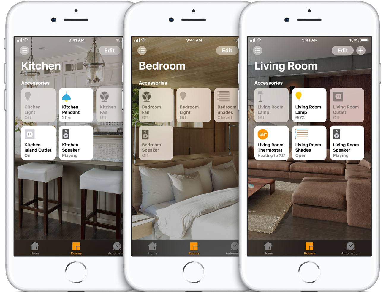 Apple HomeKit App on iPhone