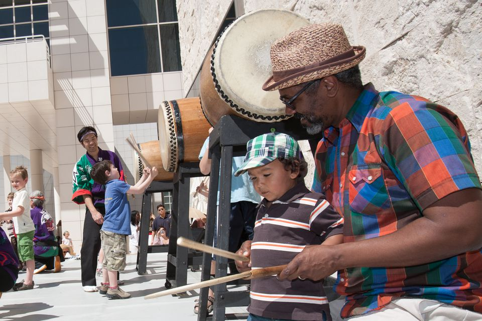Family Festival at the Getty Center