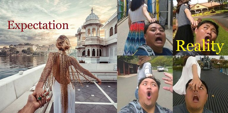 Funny Expectation Versus Reality Memes - 20 photos that sum up your travel expectations vs reality