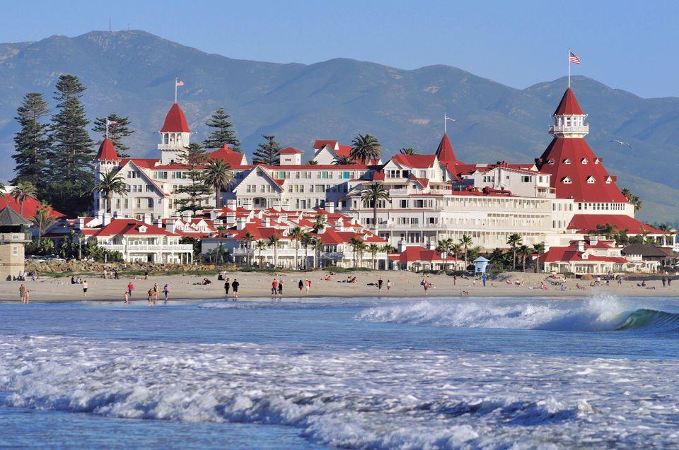 Hotel del Coronado, San Diego spas