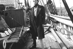 Gregory Peck in Moby Dick