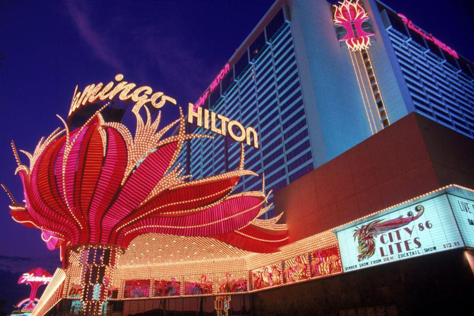 Hotel lights, Las Vegas, Nevada