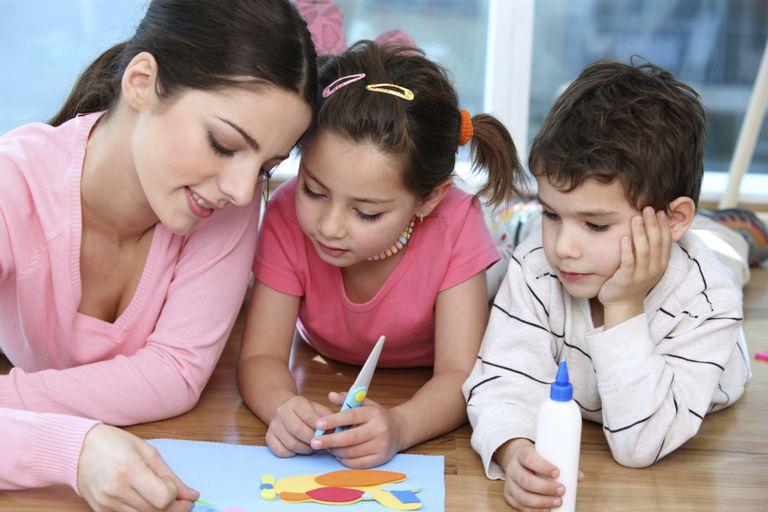 Mom Kids Art