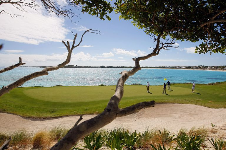 Sandals Emerald Bay Resort golf course in The Bahamas