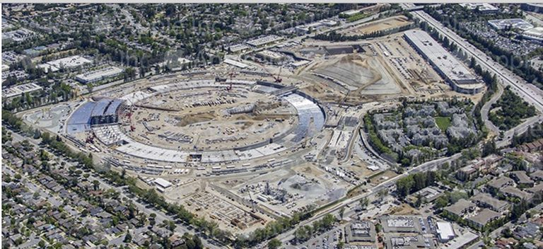Apple Campus 2 Construction