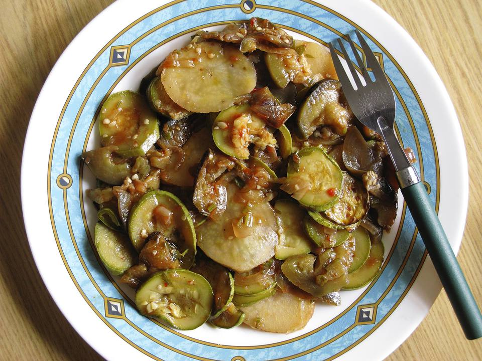 Greek Cuisine. Briam