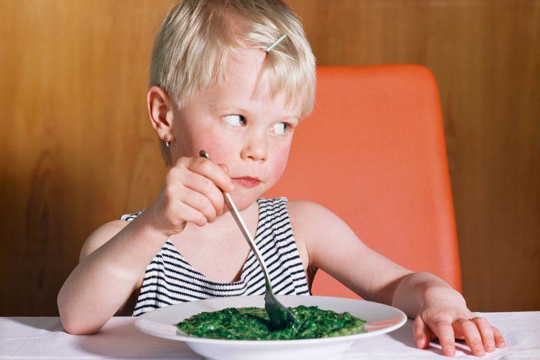 girl hates veggies