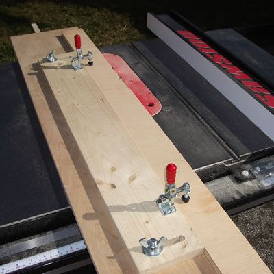 Plans For Building Table Saw Jointer Jig