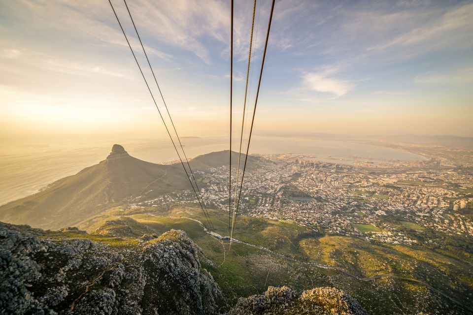 Top Ten Perfect Places to Propose in South Africa Table Mountain