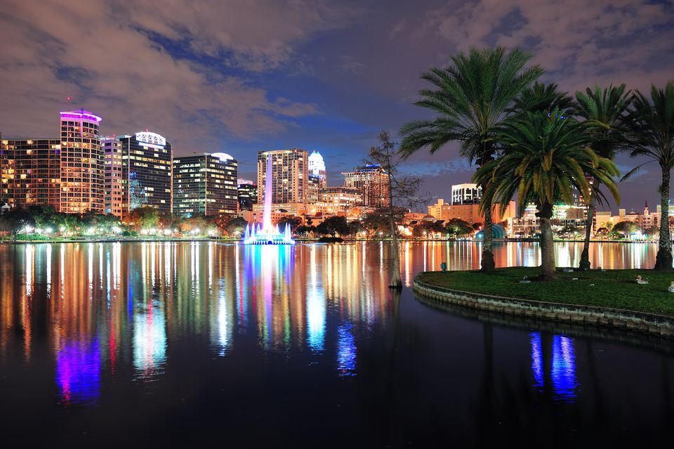 Lake Eola Restaurants Orlando Fl