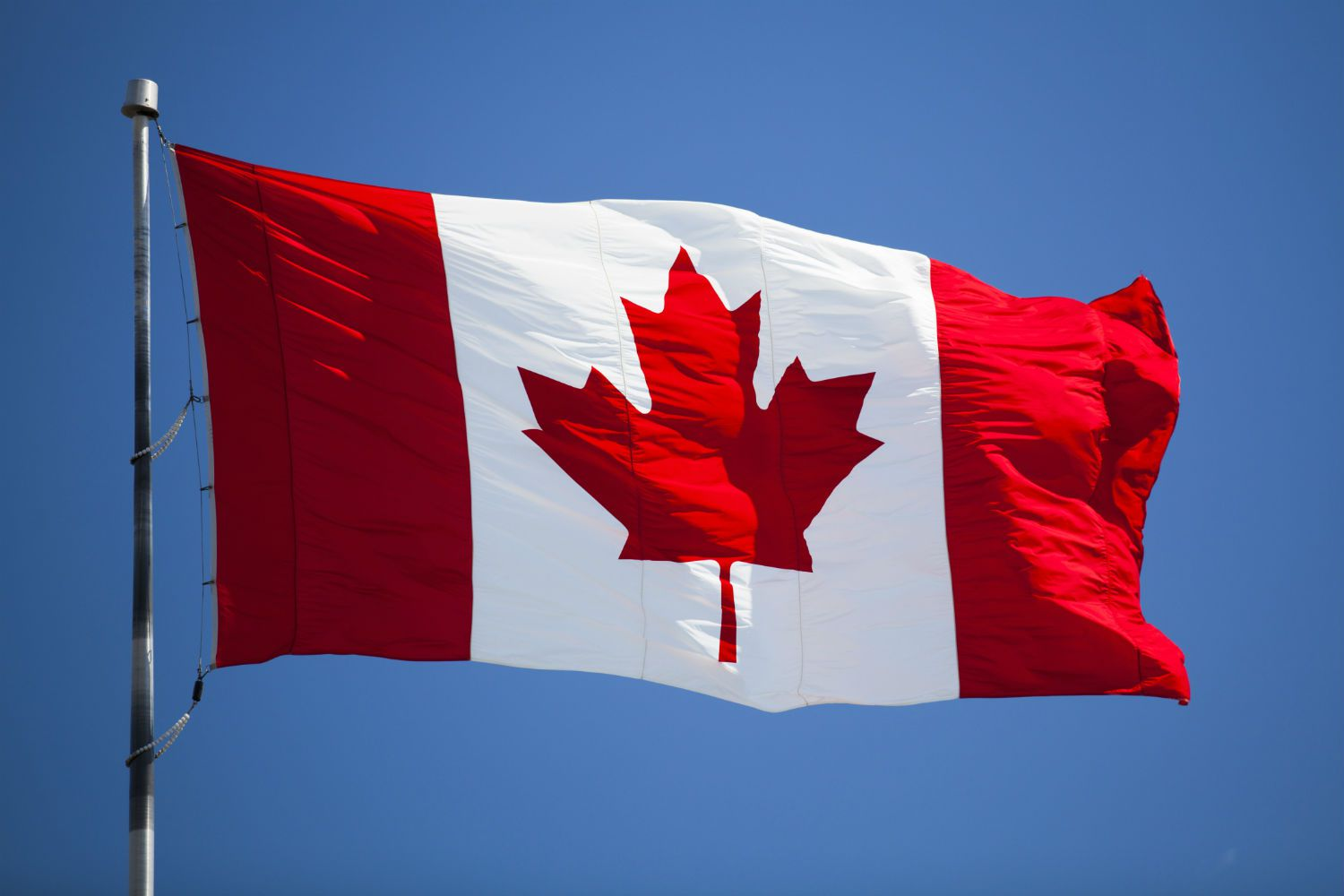 the history of the canadian national flag
