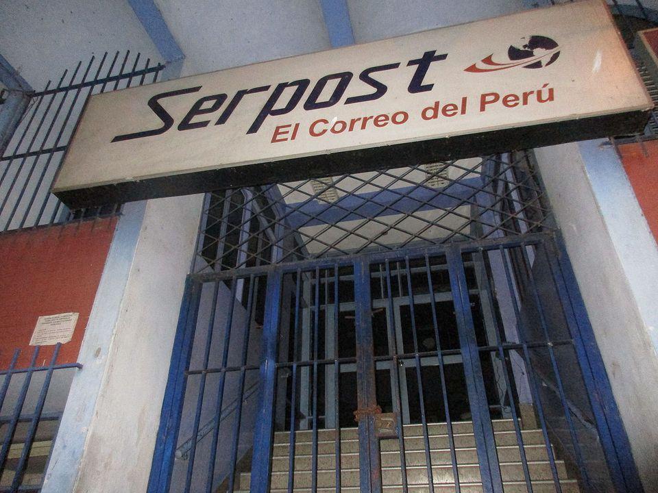 Agencia de Serpost Perú en Iquitos