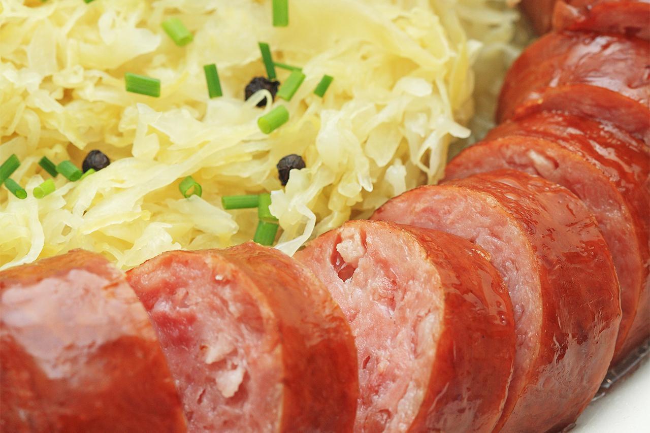 Polish Smoked Sausage And Sauerkraut Recipe
