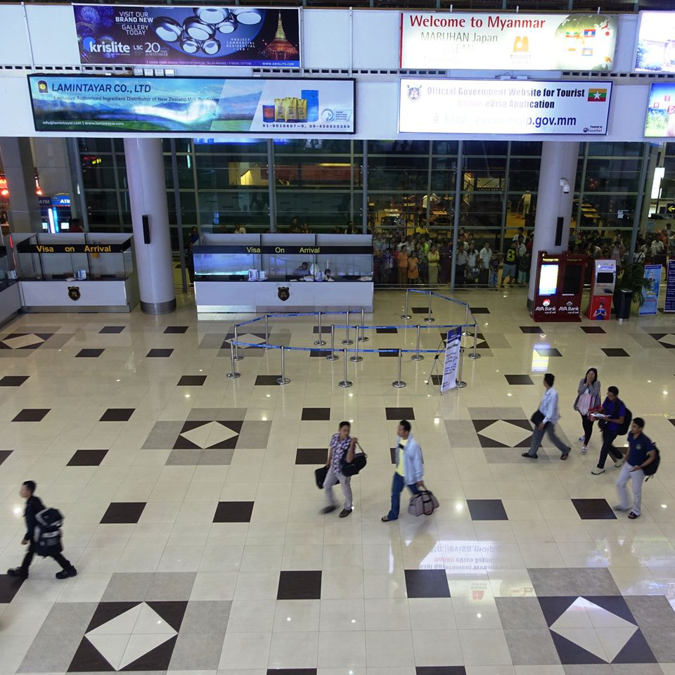 Yangon International Airport, Myanmar