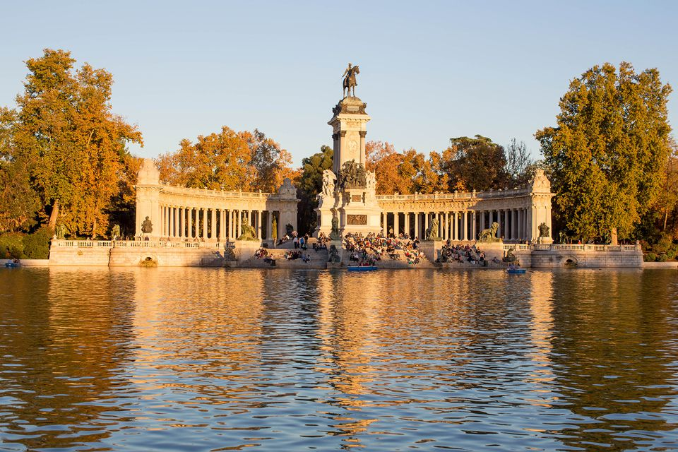 Madrid autumn