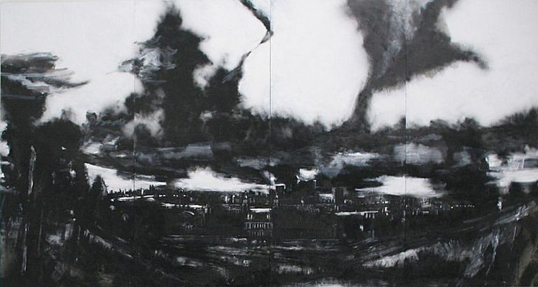 famous black and white art