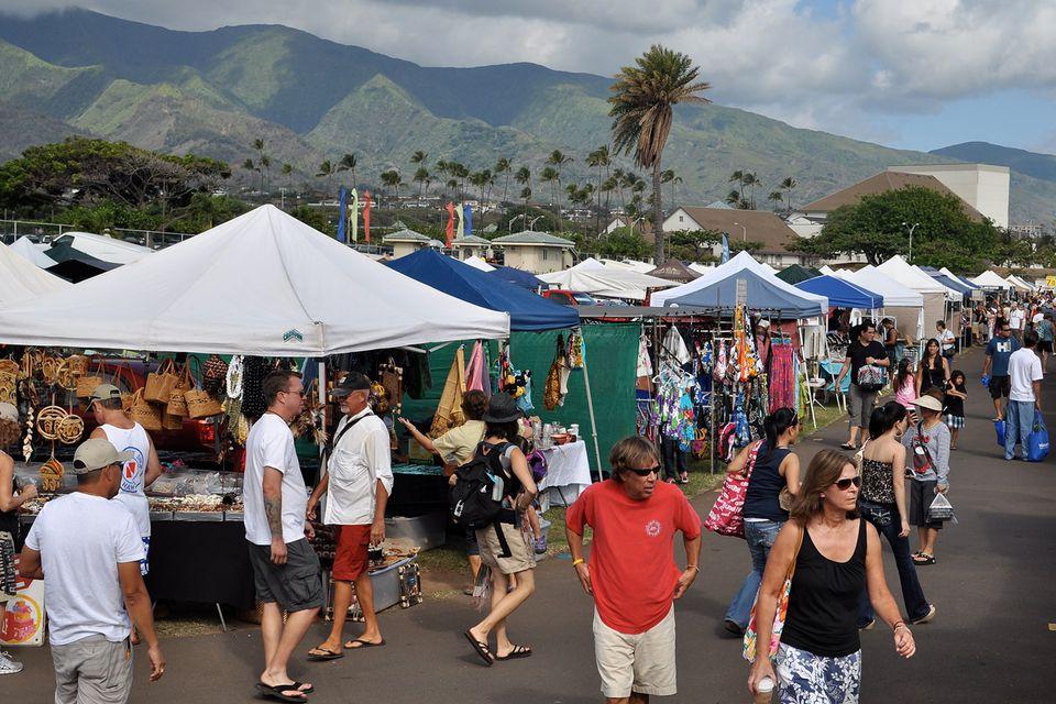Maui Swap Meet, Kahului, Maui