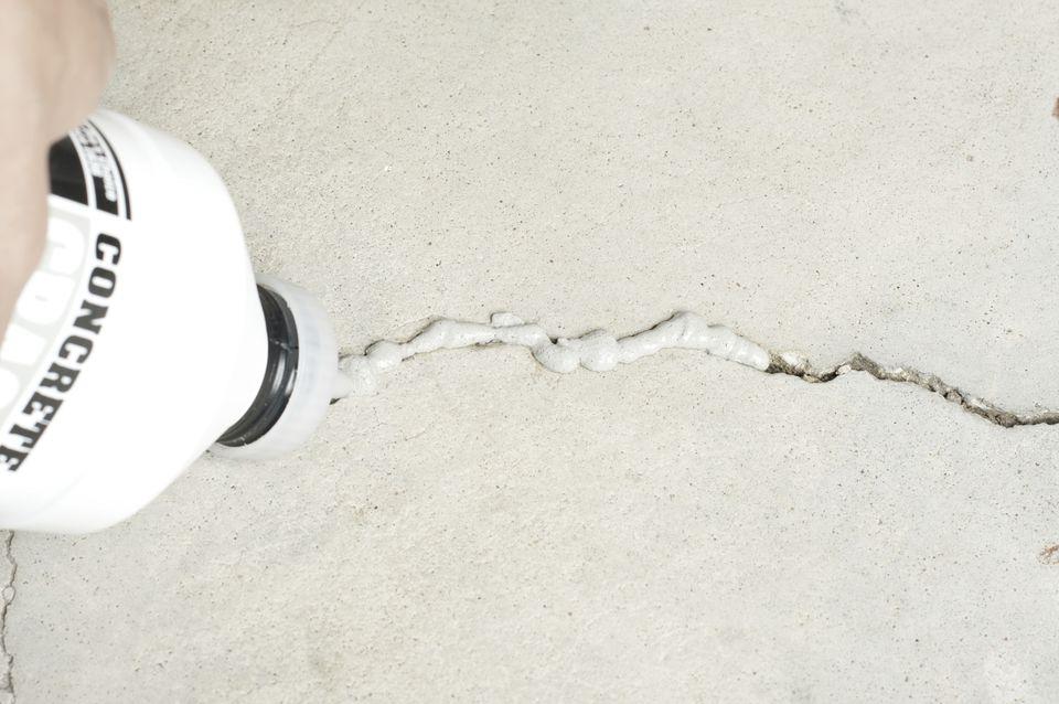 Repairing Concrete Floor