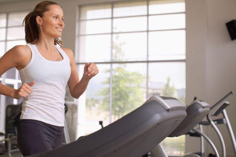 10-minute exercise - treadmill