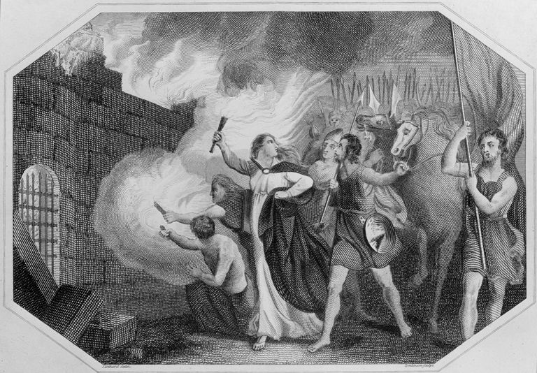 Boudicca and the Burning of London