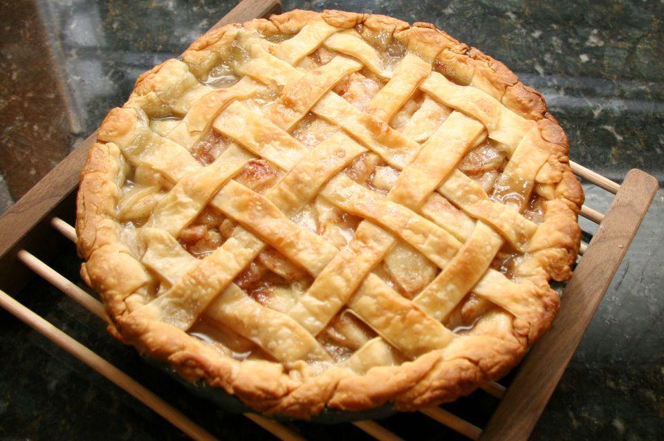 Pear Pie With Lattice Crust