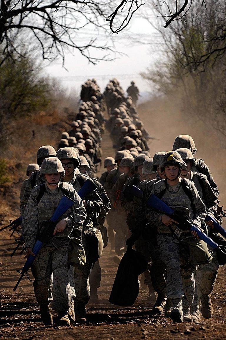 Air Force Basic Trainees