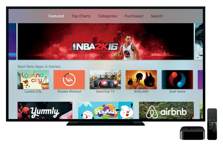 Apps on the Apple TV