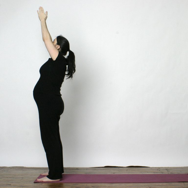 Prenatal Yoga Sequence - Sun Salutation