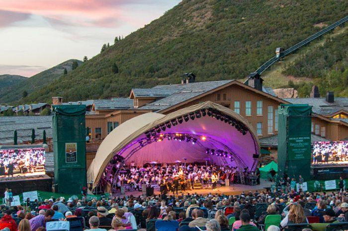 Deer Valley's Snow Park Amphitheater
