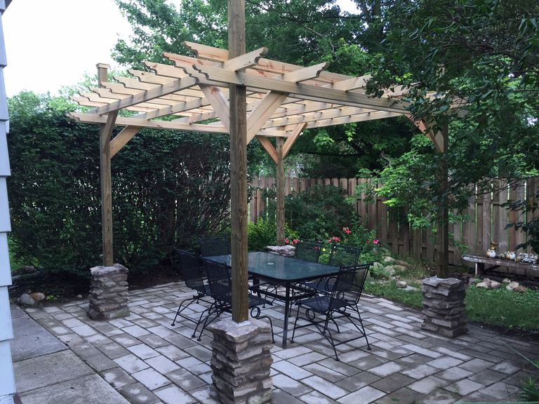 15 free pergola plans you can diy today for What does pergola mean