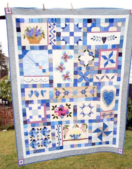 Pictures of Sampler Quilts to Inspire Your Next Quilt : sampler quilt blocks - Adamdwight.com