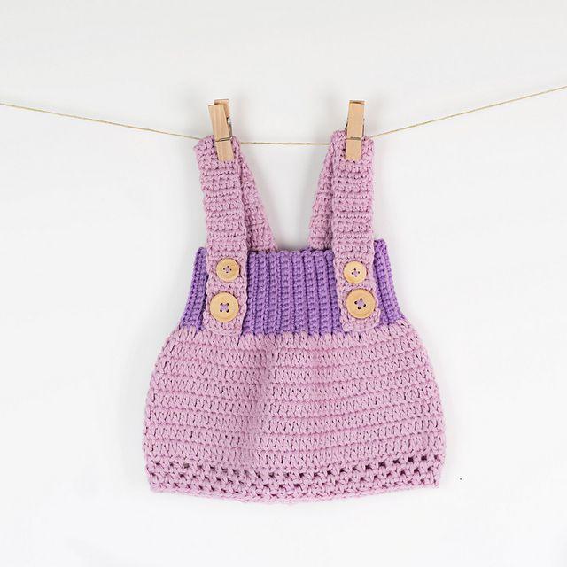 Little Princess Dress Crochet Pattern