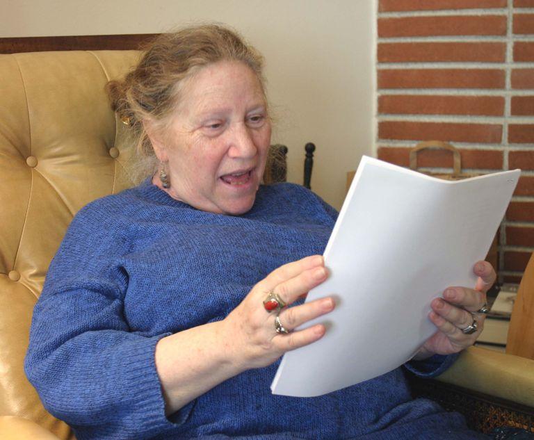 La escritora 'beat' Diane Di Prima.