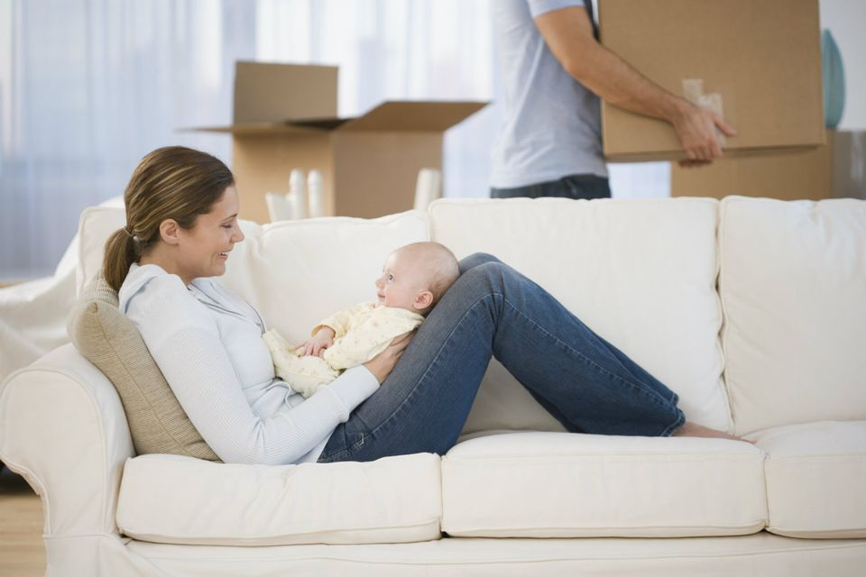New house, new baby, new working mom title, now what?