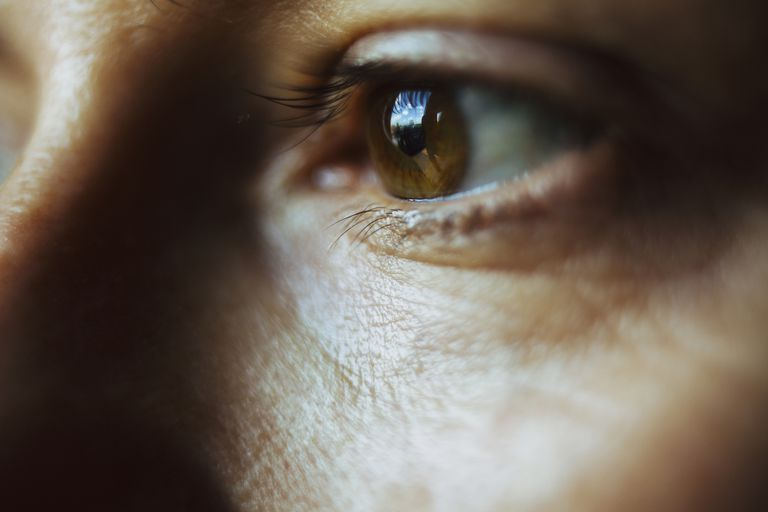 Close-up image of woman eye