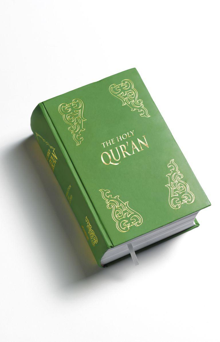 Close-up of Qur'an
