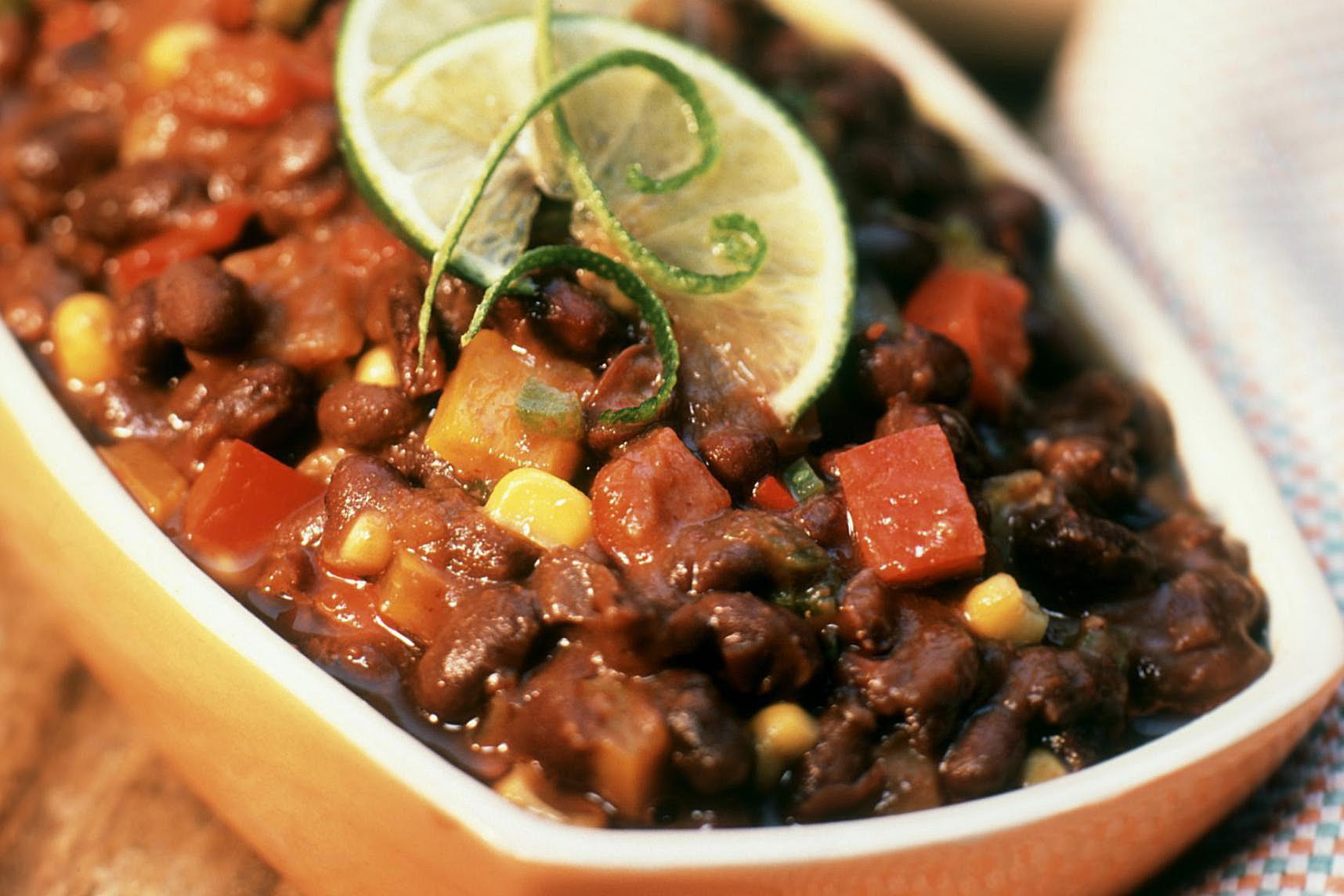 Crockpot black bean chili recipes for Crockpot fish recipes