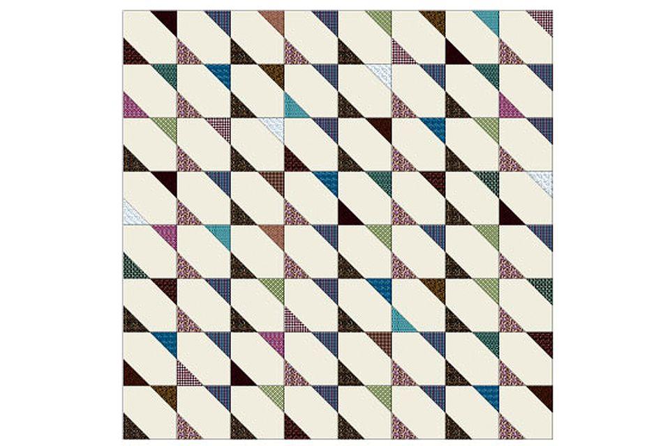 Easy Floating Stars Quilt Pattern