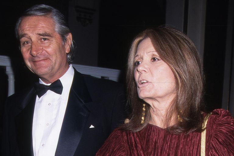 David Bale And Gloria Steinem, 2000