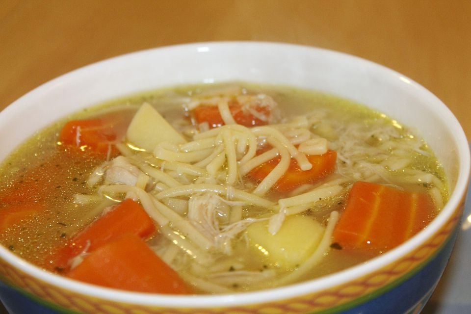 chicken soup spain