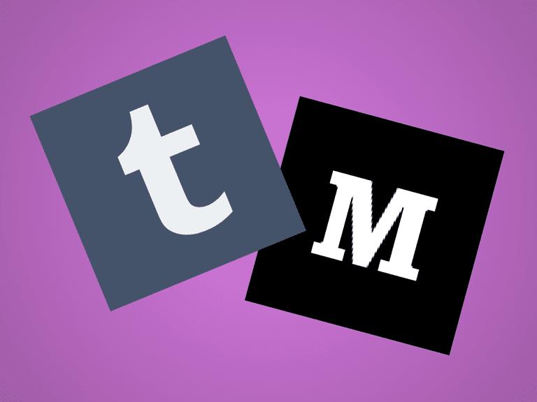 Tumblr vs. Medium