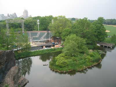Delacorte Theatre & Turtle Pond