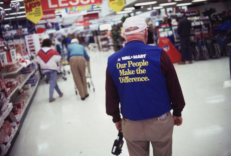 senior worker