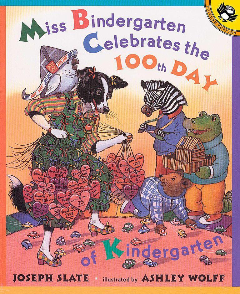 Miss Bidergarten Celebrates the 100th Day of Kindergarten