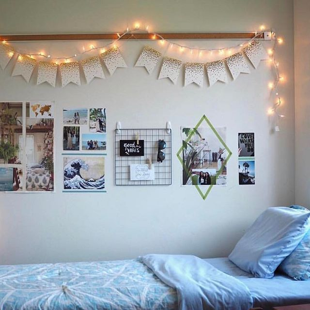 Paper Bunting Dorm Room Decor