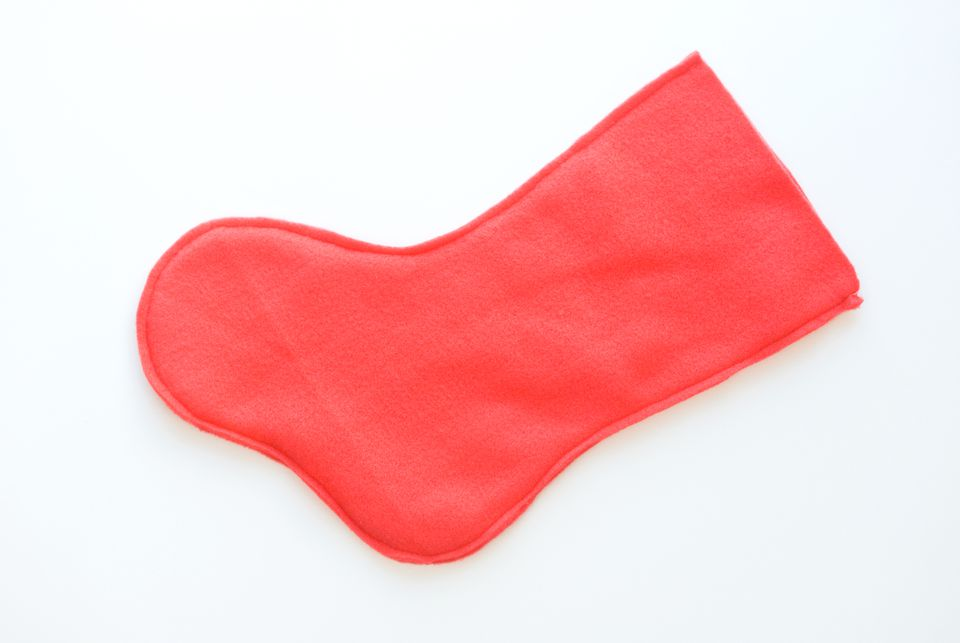 Sew the Stocking Pieces
