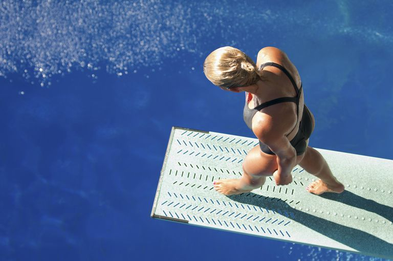 Water Depth Safety In Springboard And Platform Diving